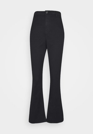 VMMARIA  - Flared jeans - black
