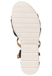 Tamaris - Wedge sandals - black nut - 3