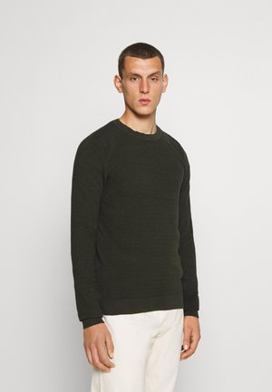 JELIAM CREW NECK - Maglione - forest night