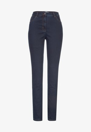 STYLE INA - Slim fit jeans - dark blue