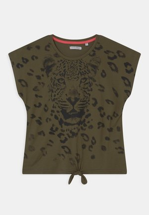 TEEN GIRLS  - Print T-shirt - khaki