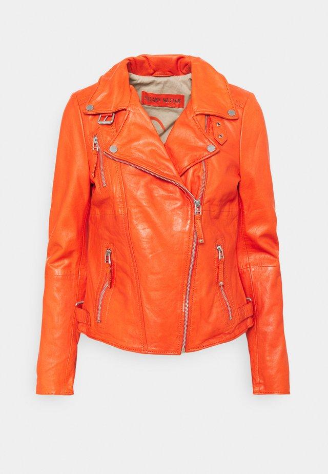 PRINCESS - Leather jacket - flame