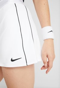 Nike Performance - DRY SKIRT - Sports skirt - white/black - 5