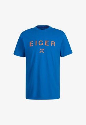 SEILE  - Print T-shirt - azurit