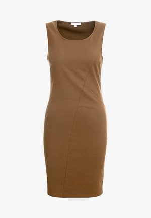 Shift dress - techno brown