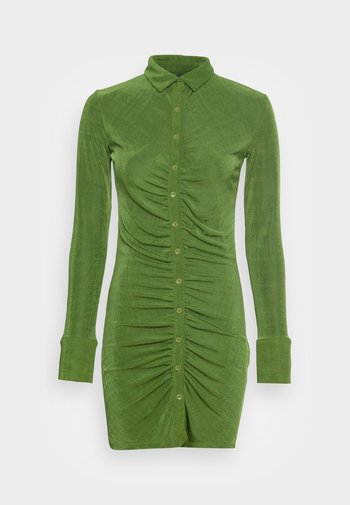 DOLLY DRESS - Jersey dress - cedar green