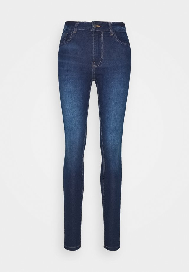 JDYNEWNIKKI LIFE HIGH - Jeansy Skinny Fit - medium blue denim