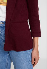 New Look - CROSS STRETCH - Blazere - dark burgundy - 5