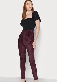 Missguided Tall - Leggings - Trousers - plum - 3