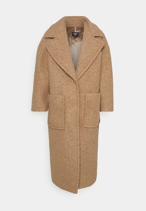 HATTIE LONG COAT - Abrigo - camel