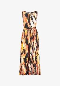 Taifun - Maxi dress - papaya gemustert - 2