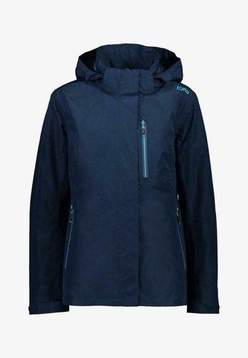 Soft shell jacket - night blue