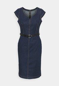 comma - Denim dress - blue denim - 0