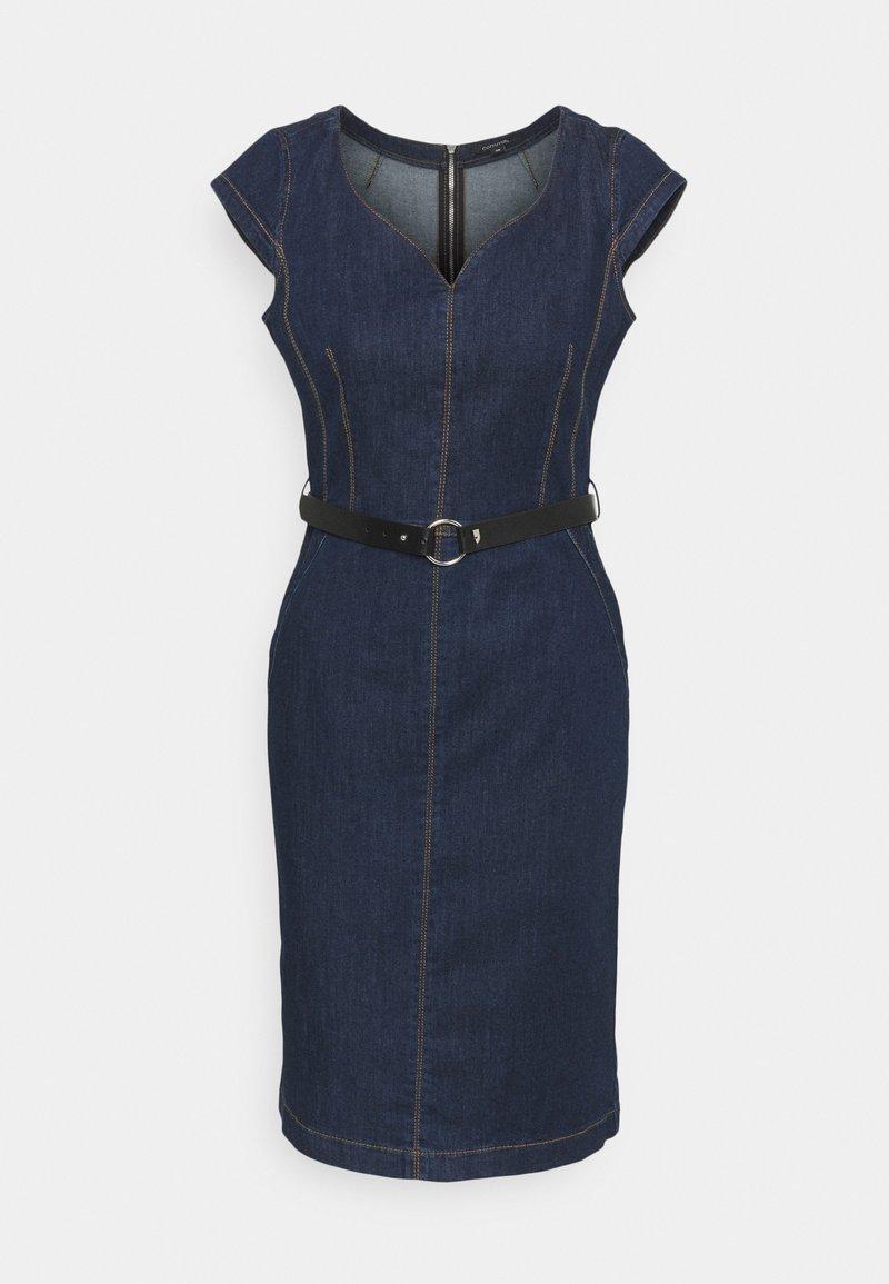 comma - Denim dress - blue denim