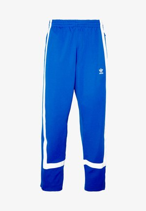 WARMUP - Tracksuit bottoms - blue/white