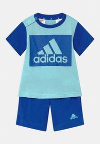 adidas Performance - SET  - Sportovní kraťasy - hazy sky/team royal blue - 0