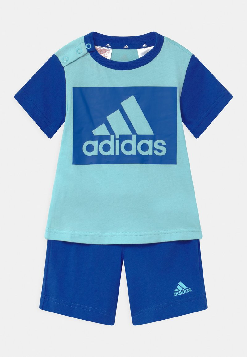 adidas Performance - SET  - Sportovní kraťasy - hazy sky/team royal blue