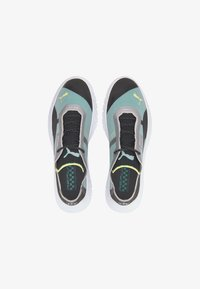 PUMA REPLICAT-X TRAINERS MALE - Trainers - black-white-spectra green