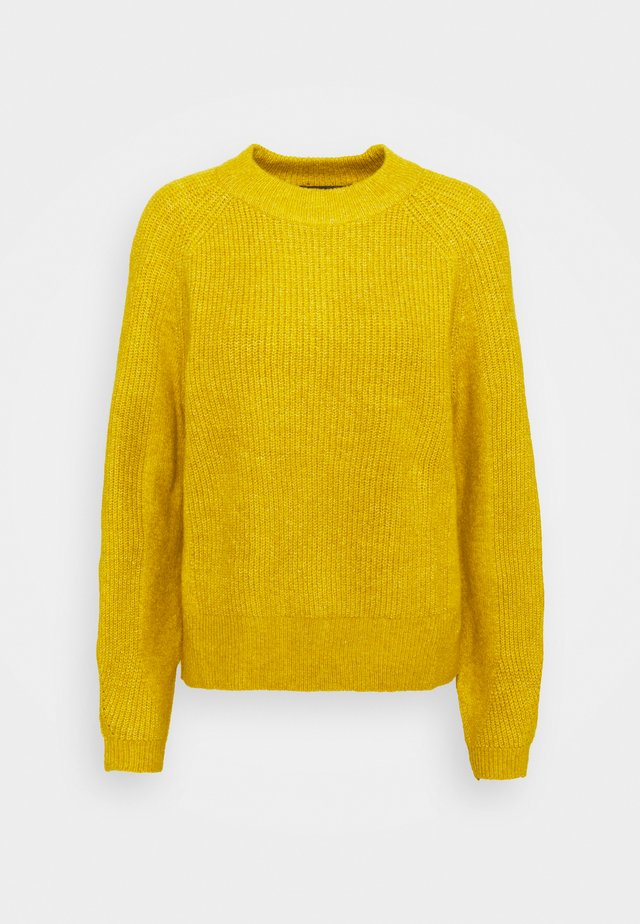 SPONGEY  - Strikkegenser - yellow