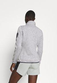 CMP - WOMAN JACKET - Fleece jacket - grey/bianco - 2