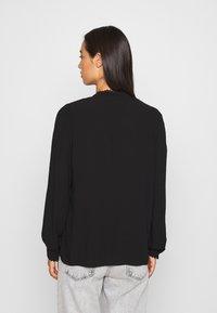 Vero Moda - VMESTHER - Button-down blouse - black - 2