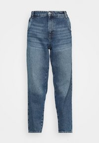 ONLY - ONLTROY LIFE CARROT - Relaxed fit jeans - medium blue denim - 4