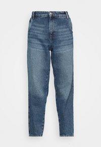 ONLTROY LIFE CARROT - Relaxed fit jeans - medium blue denim
