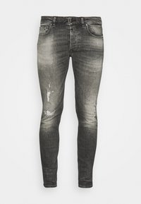Tigha - MORTEN DESTROYED - Jeans slim fit - dark grey - 3