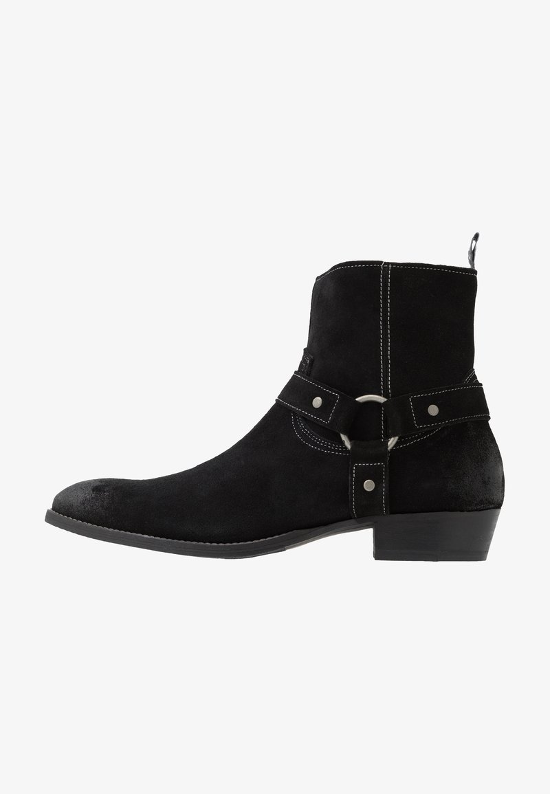 Society - YARD HARNESS BOOT - Santiags - black