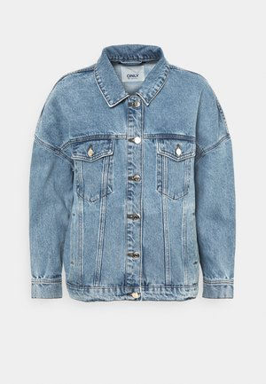 ONLSAFE LIFE - Cowboyjakker - medium blue denim