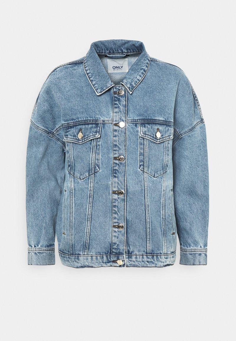 ONLY - ONLSAFE LIFE - Denim jacket - medium blue denim