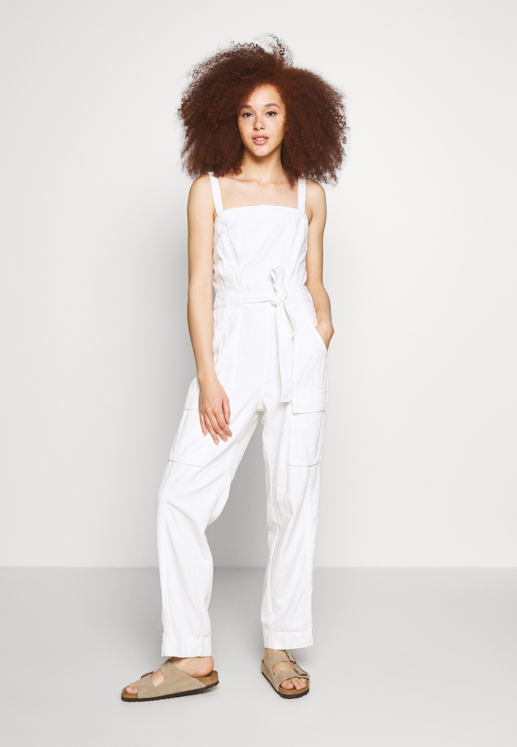 Purchase Women's Clothing Free People GO WEST UTILITY Jumpsuit white ClRh4Vu2U