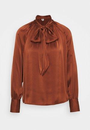 Blouse - brown medium