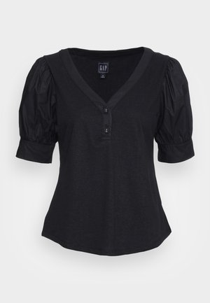 Print T-shirt - moonless night