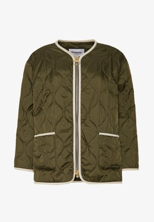 ALEXA CHUNG X BARBOUR DARCY QUILT - Light jacket - olive