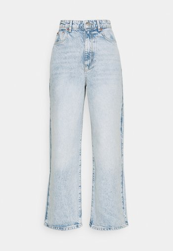 IDUN CROP WIDE - Jeans Skinny Fit - bleached blue