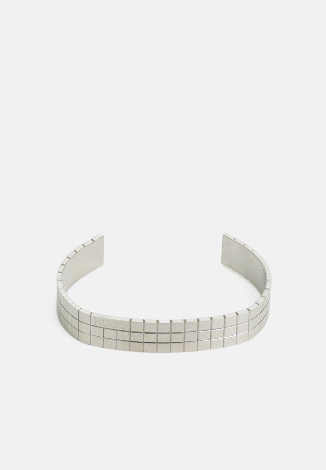 GRID BANGLE - Bracelet - silver-coloured