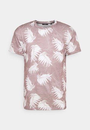 JPRBLABAKER TEE CREW NECK - Marškinėliai su spaudiniu - soft pink