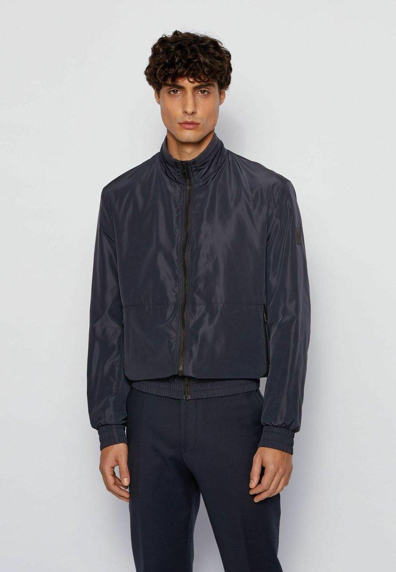 BOSS - CIBAR - Summer jacket - dark blue