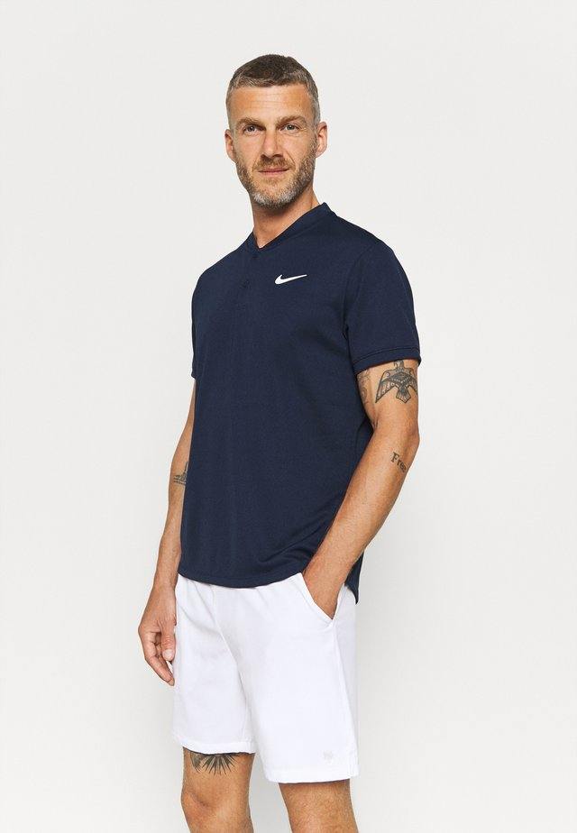 BLADE - T-shirts - obsidian/white