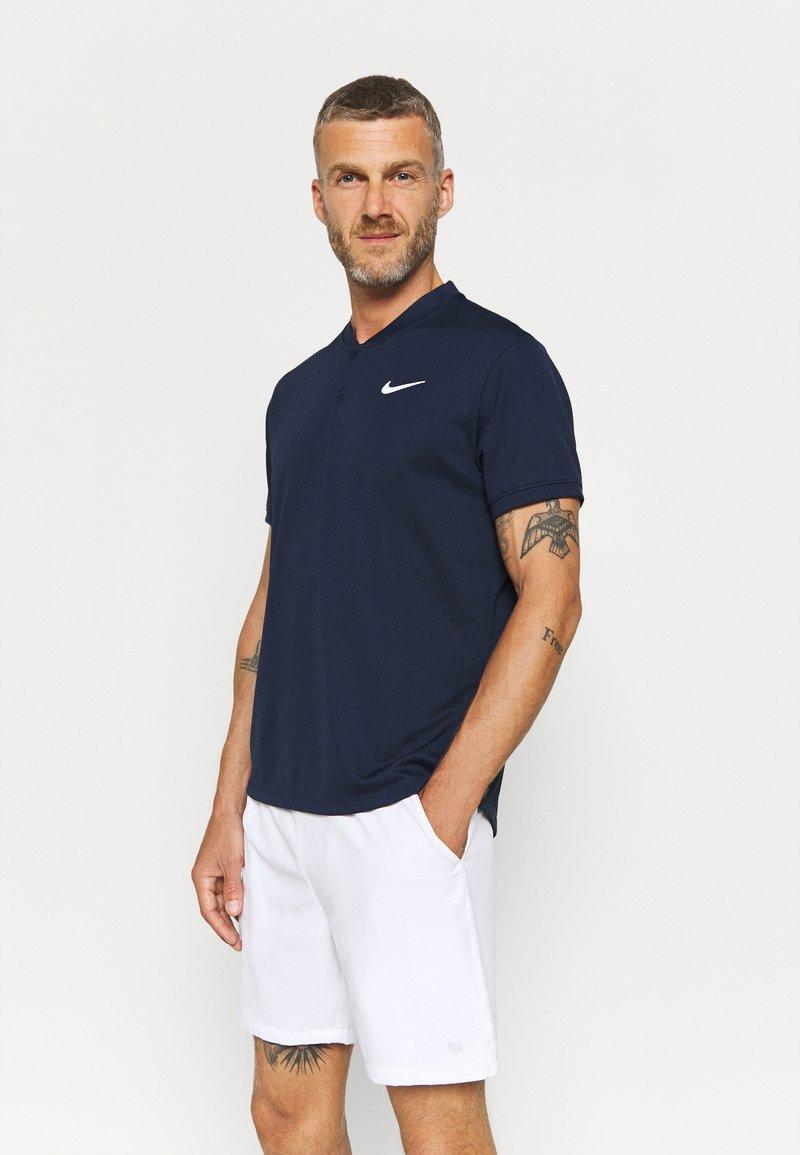 Nike Performance - BLADE - T-shirt basique - obsidian/white