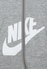Nike Sportswear - HOODED BABY COVERALL UNISEX - Mono - grey heather - 2