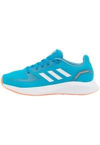 adidas Performance - RUNFALCON 2.0 UNISEX - Neutral running shoes - solar blue/footwear white/hazy blue - 0