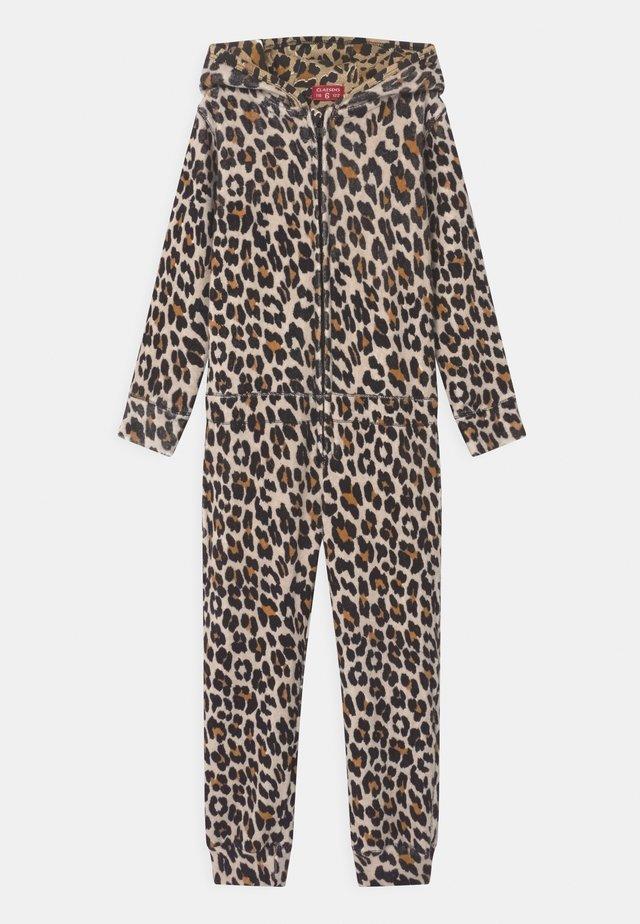 GIRLS ANIMAL PRINT - Pyjama - brown