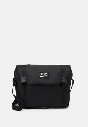 DECK MESSENGER UNISEX - Across body bag - black