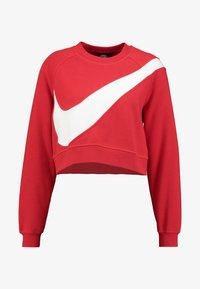Nike Sportswear - CREW - Sweatshirt - university red/white - 4