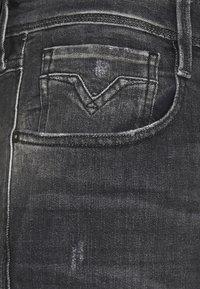 Replay - ANBASS AGED  - Straight leg jeans - dark grey - 5