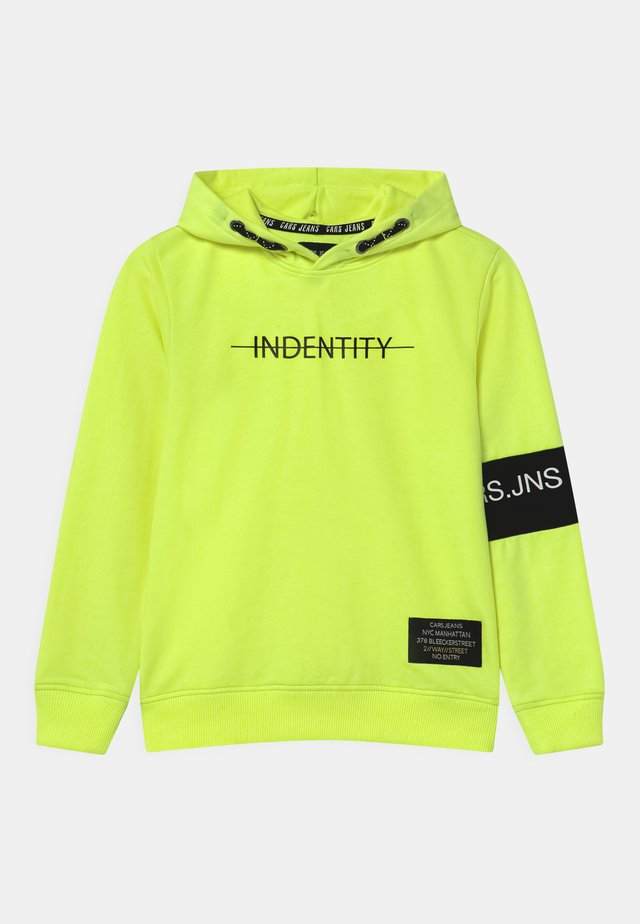 DEVON HOOD  - Sweater - neon yellow