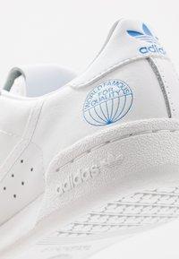 adidas Originals - CONTINENTAL 80 - Trainers - footwear white/blue bird - 5