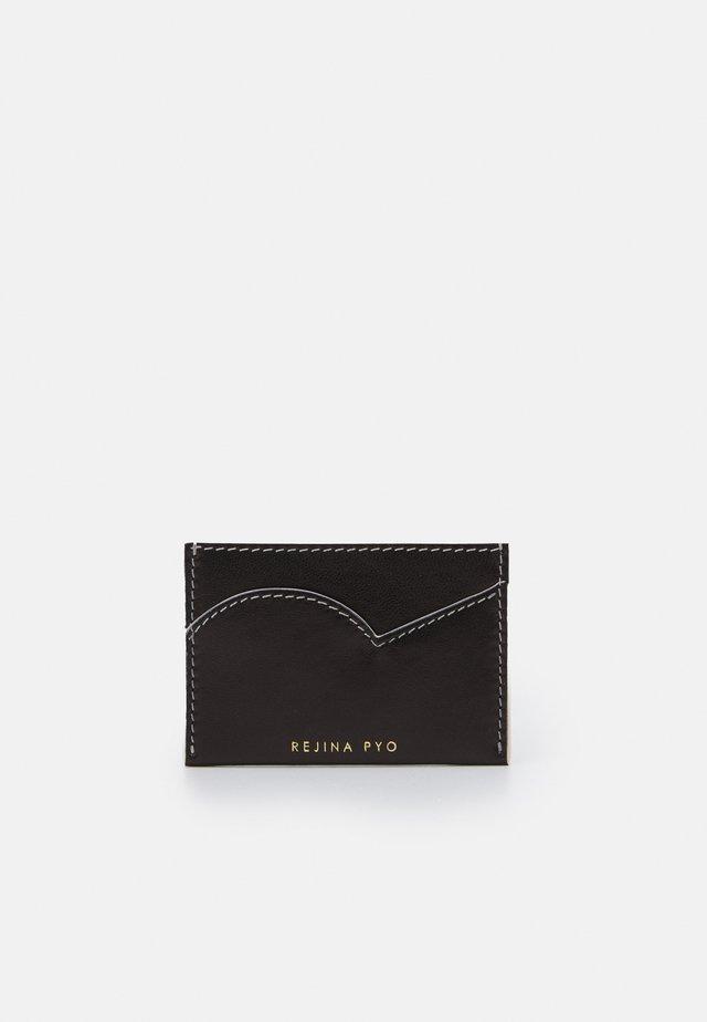 CARD HOLDER - Portefeuille - black